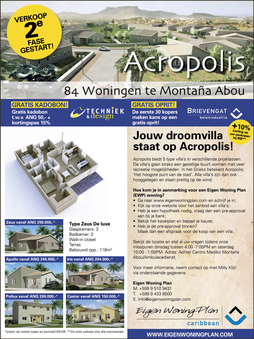 Sale 2nd Phase Acropolis Started!
